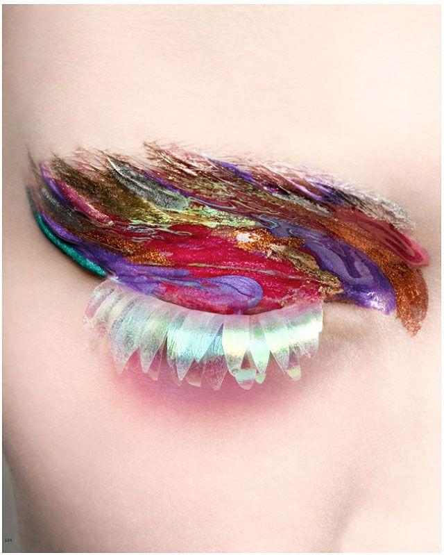 fantasy makeup...Sophie Dreijer for NK Stil Magazine
