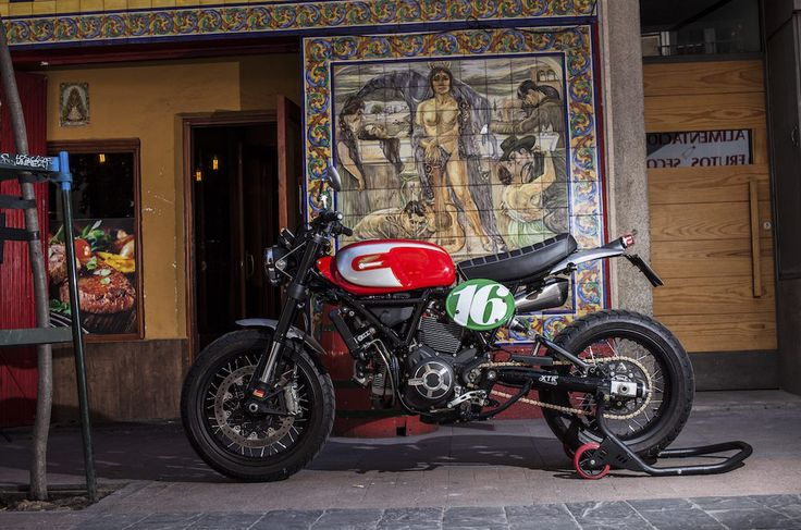 The new Ducati Scrambler range of motorcycles was introduced in 2014, and went on sale in 2015. Their popularity has been nothing short of explosive, and in 2016 Ducati expanded the model line with additional smaller engined examples for smaller riders, and those new to motorcycling. The production of each Scrambler begins in the main factory...