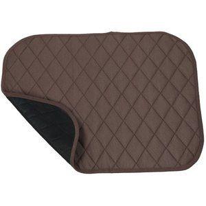 Wasbare onderlegger voor stoel of bed bruin ADL520