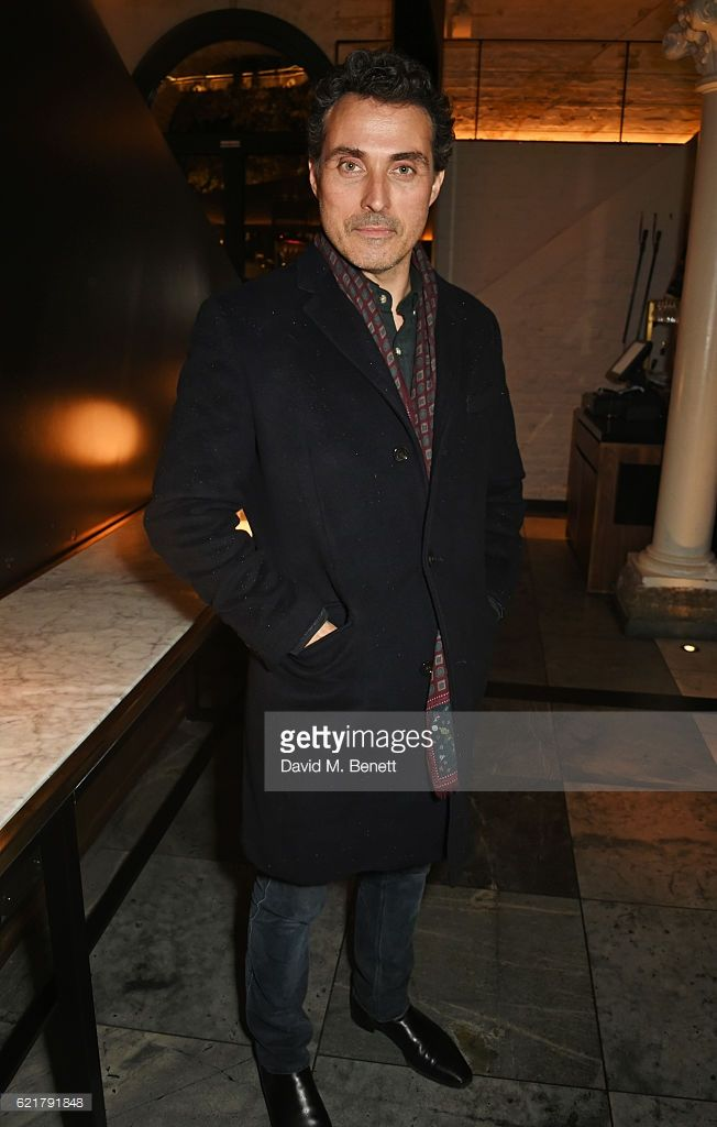 Rufus Sewell attends the press night after party for 'Lazarus' at the King's Cross Theatre on November 8, 2016 in London, England.