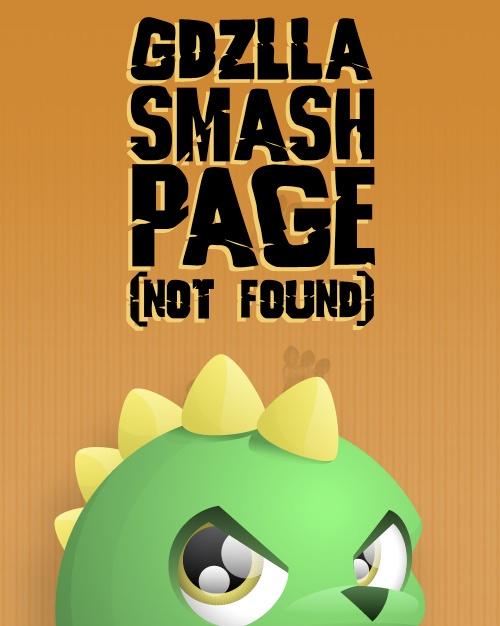 404 page of GDZLLA