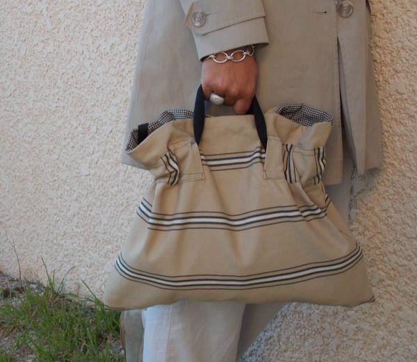 Nouveau sac pliable
