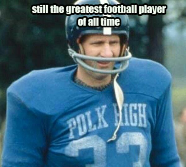 I once scored 4 tds in a high school football game...