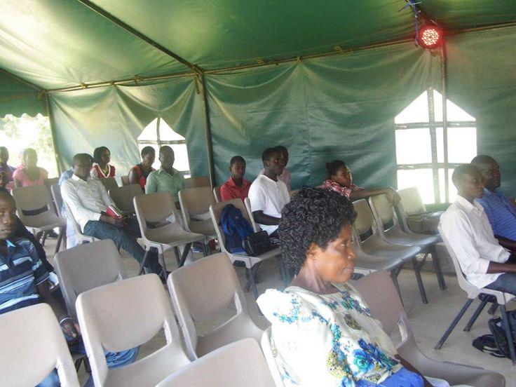 VCC Kawempe church members attending to a sermon