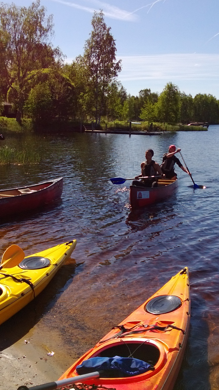 Training kayaking guides