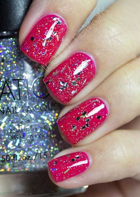 The Nail Network: Sation Two Faced Tint (holo glitter topper)