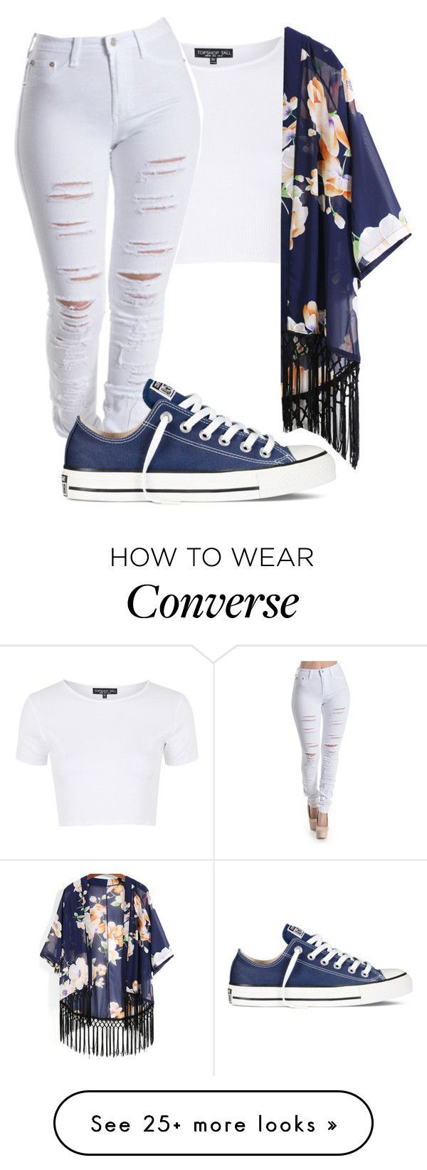 """""""Untitled #339"""" by taylorywomack on Polyvore featuring Topshop and Converse"""
