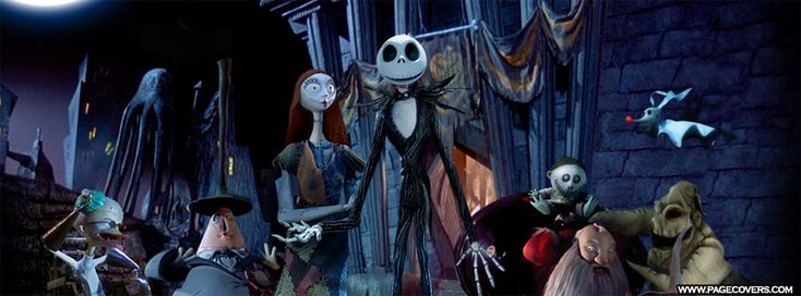 The Nightmare Before Christmas Facebook Cover