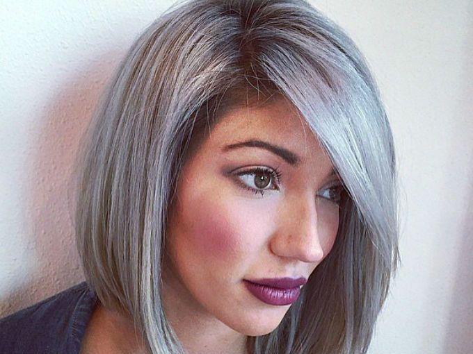 Color de pelo gris 2017