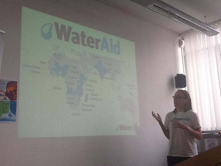 Water Quality event- 'WaterAid', By Alice Dibblin, University of Southampton and volunteer coordinator for the University of Southampton WaterAid group.