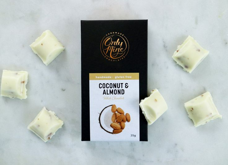 Coconut & Almond, White Chocolate Bar........Introducing our all new range of delicious handmade chocolate bars. These bars are designed to take your taste buds to a whole new realm, they're certified gluten free and made with real ingredients, they're truly a treat you can feel good about.