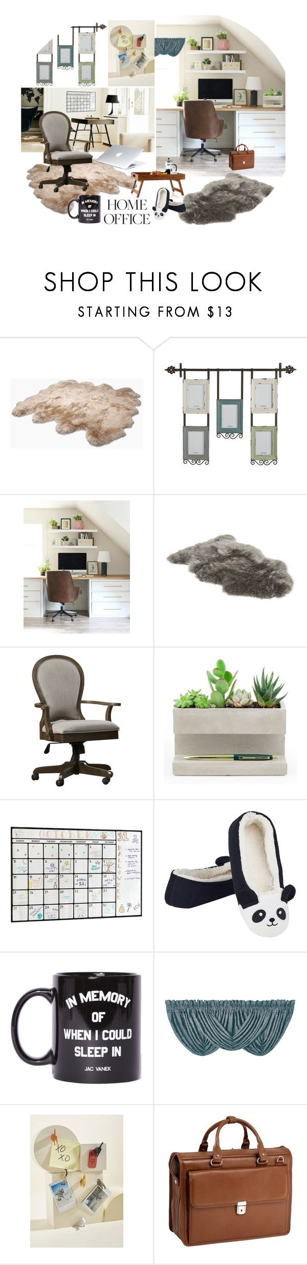 """""""Tough Day at the Office"""" by sojazzed ❤ liked on Polyvore featuring interior, interiors, interior design, home, home decor, interior decorating, UGG Australia, Pier 1 Imports, West Elm and UGG"""