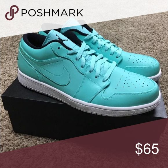 Jordan 1 low hyper turquoise Brand new. Willing to Negotiate. Text me for any additional questions or pictures. 5597996523 Jordan Shoes Athletic Shoes