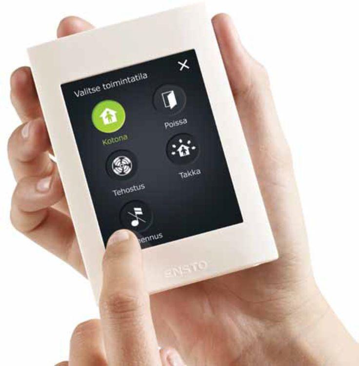 eAir-ohjaimella hallitset kodin ilmanvaihtoa helpolla tavalla. Ilmanvaihdon hallinta perustuu arkipäivän käyttötilanteisiin pohjautuvaan logiikkaan ja tilanneohjaukseen. Mahdollisuus valita esim. energiansäästätila, jolla IV-laitteiston energiankulutus putoaa nopeasti. - You can manage home ventilation with smart eAir-controller