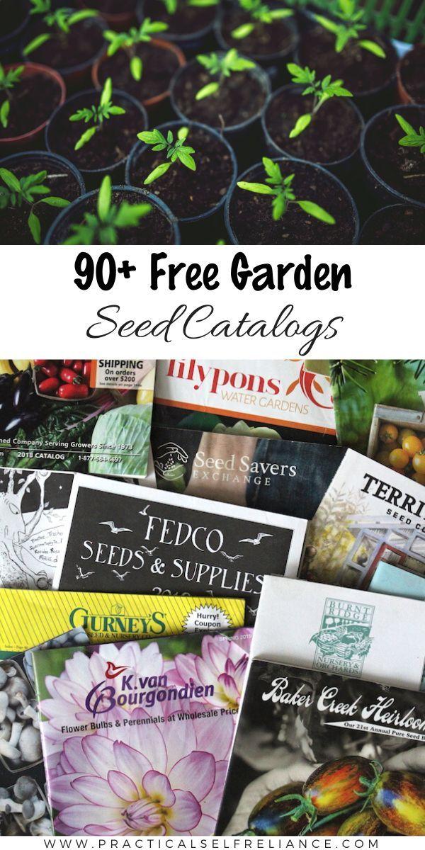 90 Free Seed Catalogs Nursery