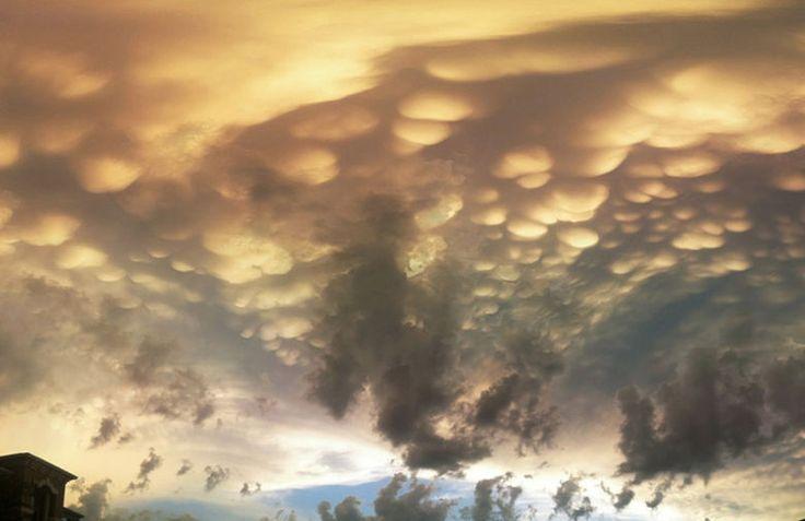 Nubes mastodónticas