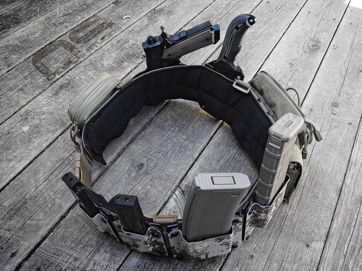 First line gear ats war belt