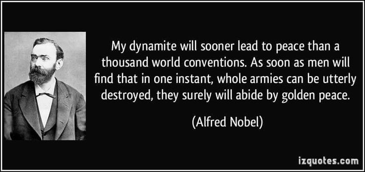Alfred Nobel 1833-1896  Established the Nobel Prizes.Since 1901, the Nobel Prize has been honoring men and women from all corners of the globe for outstanding achievements in physics, chemistry, physiology or medicine, literature, and for work in peace. The foundations for the prize were laid in 1895 when Alfred Nobel wrote his last will, leaving much of his wealth to the establishment of the Nobel Prize.  Alfred Bernhard Nobel Known for inventing dynamite, Nobel also owned Bofors, which he…