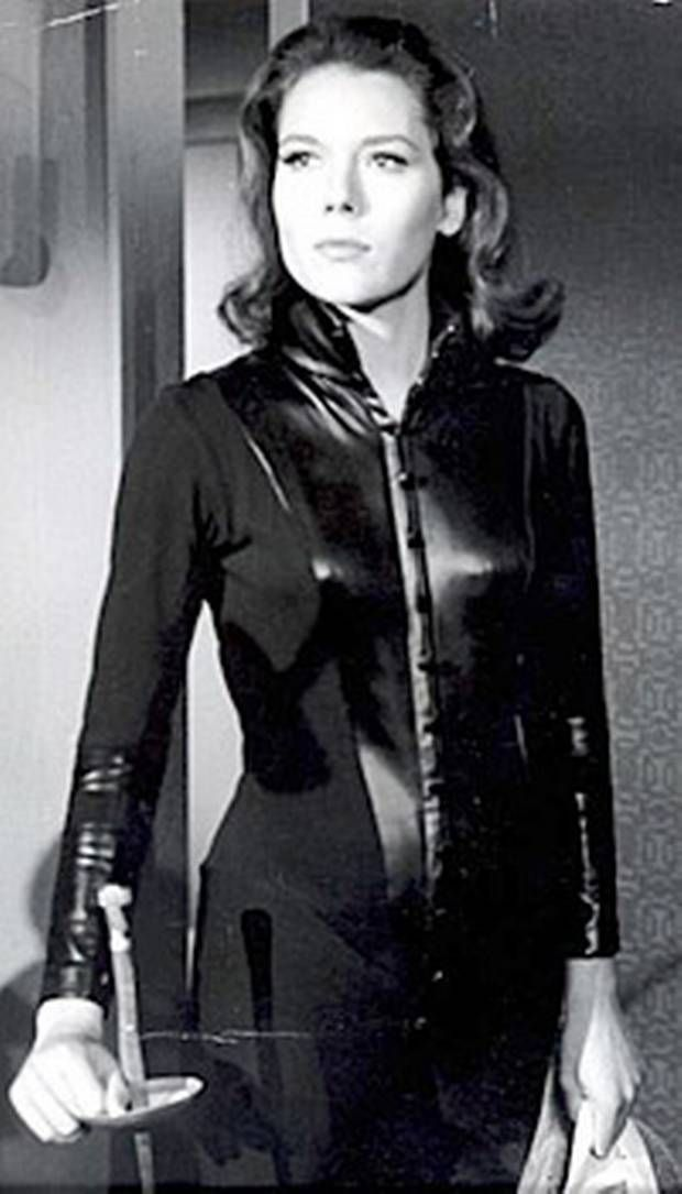 Diana Rigg  avengers | ... of the Day ('The Avengers,' on Diana Rigg, aka 'Mrs. Peel