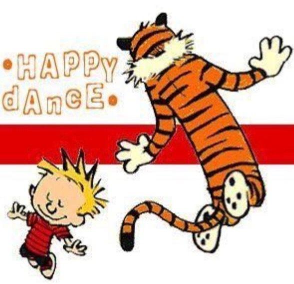 Pin By Sarah S Fandom On Calvin Hobbes Calvin And Hobbes Calvin And Hobbes Comics Happy Dance