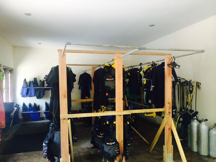 New equipment room lay out in Oceans 5