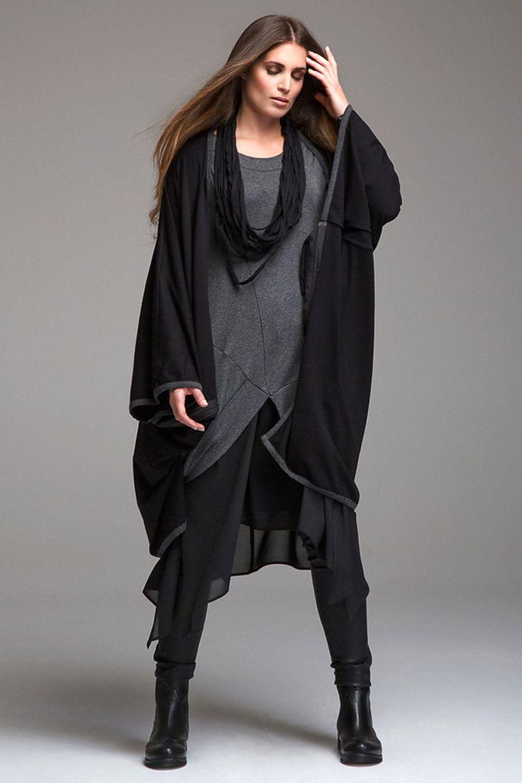Cape Mat fashion rits details » Kleding » Grote maten | damesmode online | Bagoes grote maten