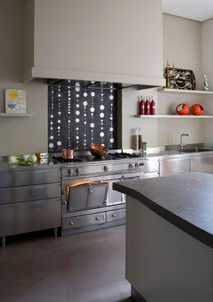 Design Crisis » pierre yovanovitch - luv the La Cornue double oven range