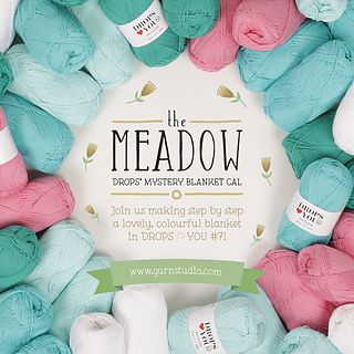 all clues and information on the Meadow Mystery Crochet-Along Blanket 2016 are HERE... (CAL from March 2016 to July 2016)