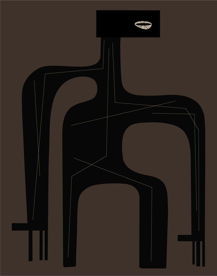 Black Track. Peter Bainbridge.