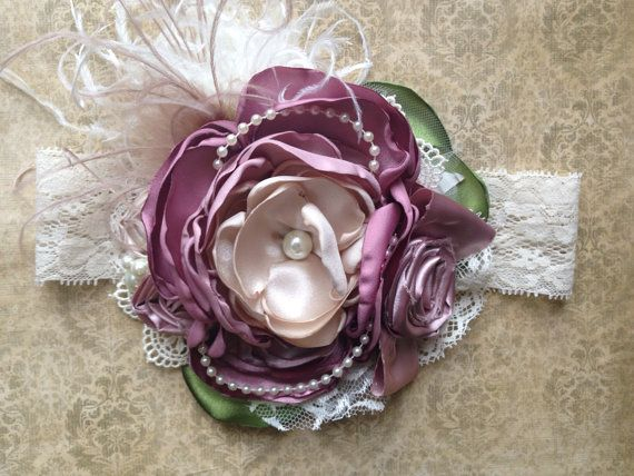 The Juliette over the top headband  by ChloeRoseCouture on Etsy