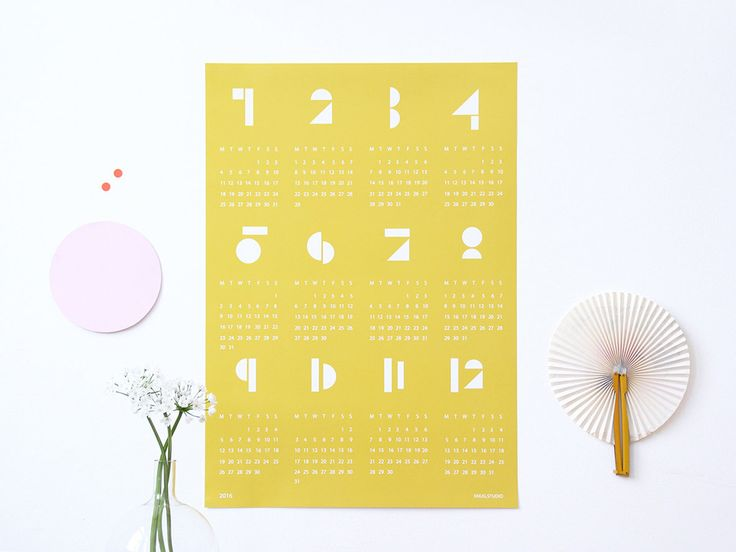 Sélection de calendriers 2016 | elephant in the room