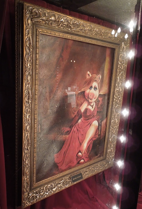 Miss Piggy portrait prop from The Muppets
