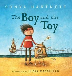 Sonya Hartnett, an ALMA-winner (2008) has written this story about friendship, yet there are options for interpretation. With vibrant illustrations by Lucia Masciullo, I particularly liked the boy, with toy, sitting in his library.