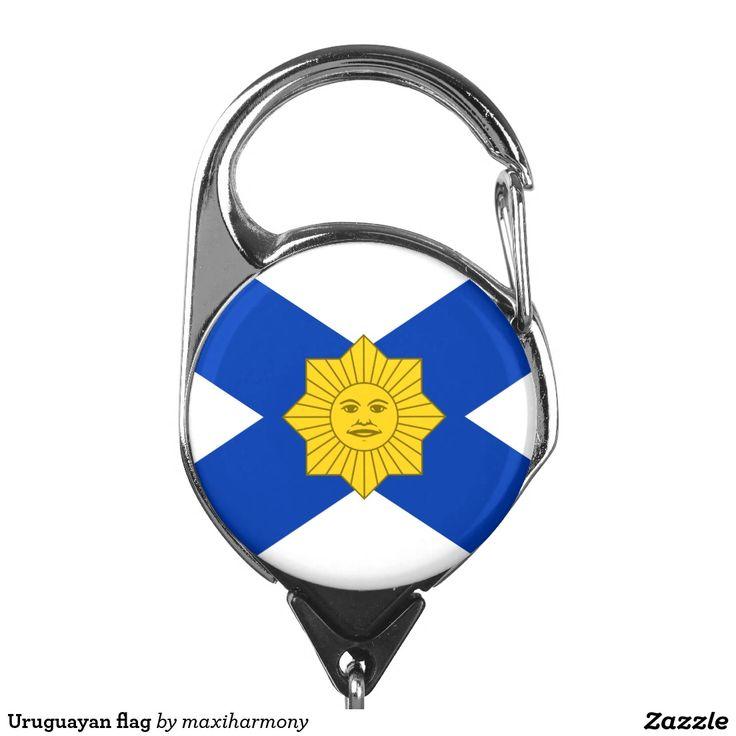 Uruguayan flag badge holder