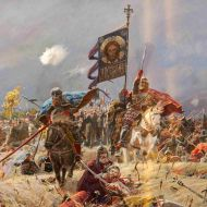 Pavel Ryzhenko Pavel Ryzhenko is a Russian artist (born in 1970) and professor at the Russian Fine Arts Academy. He specializes in historical & religious paintings. While his paintings may not…