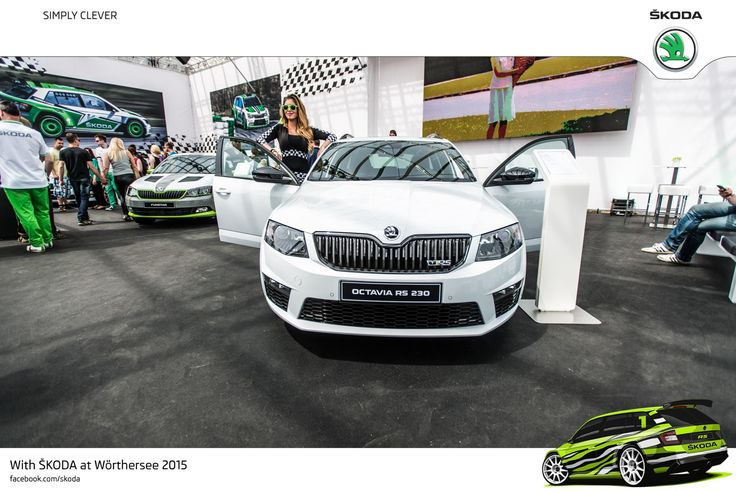 ŠKODA's emotive appearance at Wörthersee is complete with the new ŠKODA Octavia Combi RS 230. The racy ŠKODA special edition celebrated its acclaimed world premiere a few weeks ago. Its market launch is set for June #SKODAWoerthersee #RS230