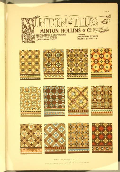 Minton tiles : Minton Hollins & Co. patent tile...