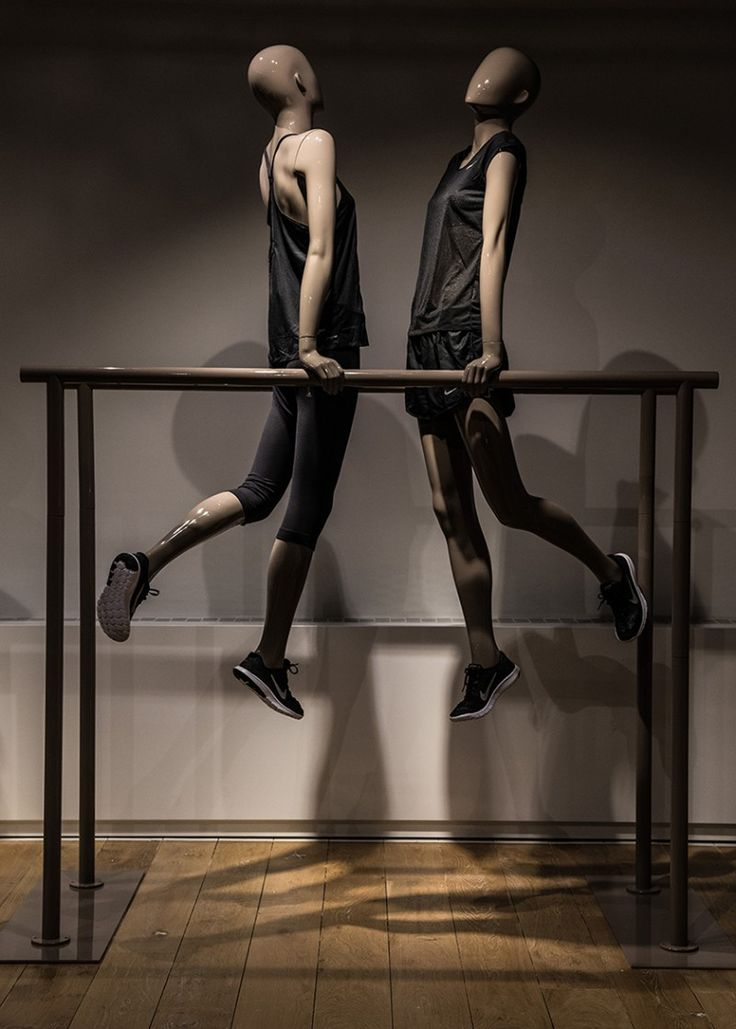 Mannequins Female Sport Movement