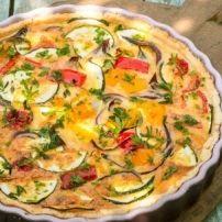 Makkelijk voor te bereiden recept voor een heerlijk compleet vegetarisch ovengerecht(eenmaal in de oven, bijna geen omkijken naar)
