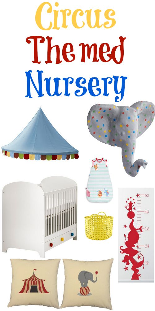 Ideas For A Circus Themed Nursery