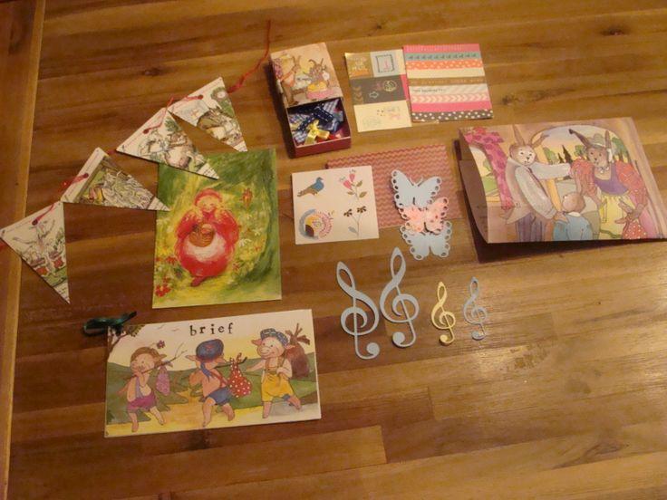 Letter S snail: Sprookjes, stansjes, strikjes, stickers