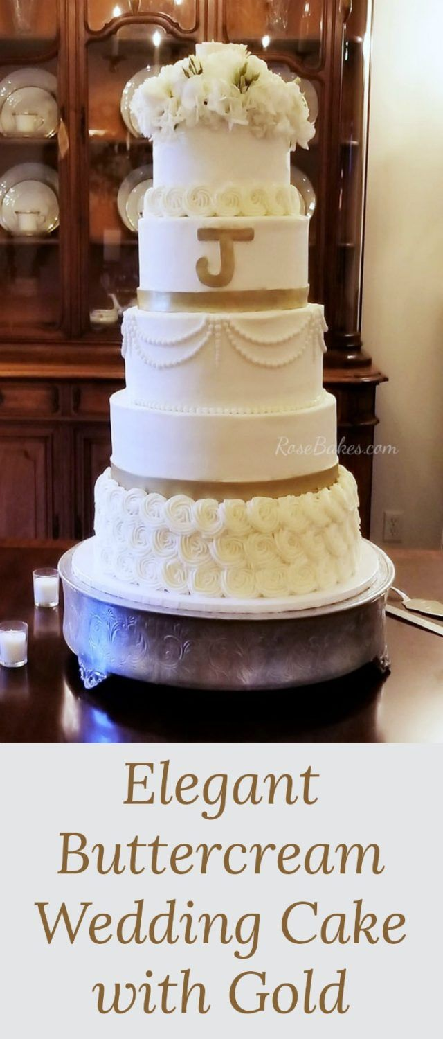 The 6 tier buttercream wedding cake that I had booked and planned wasn't meant to be. Visit Rose Bakes to see what happened and how I had to overcome it.