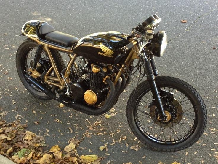 #Honda #CB550 #CafeRacer #Custom #Vintage #Motorcycle #DimeCityCycles Customers' Build - www.dimecitycycles.com