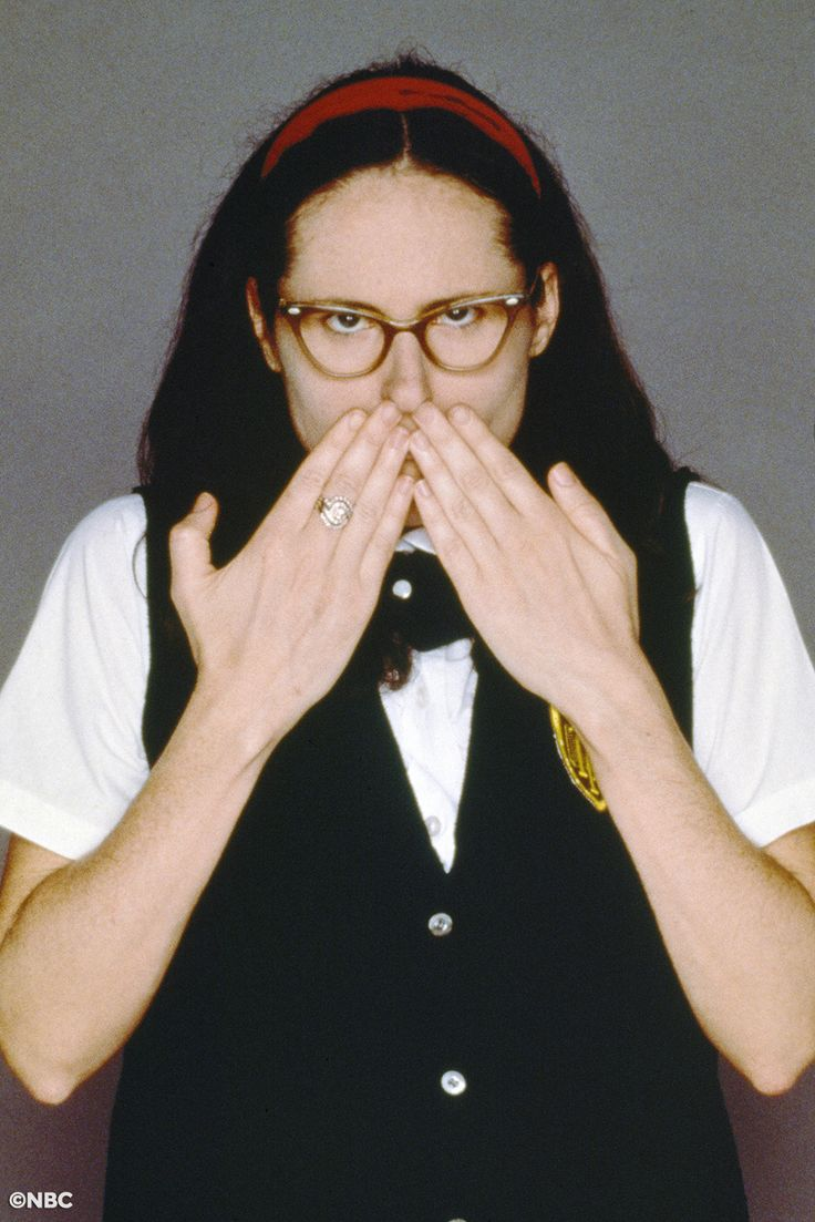 She's a superstar! Molly Shannon debuts Mary Katherine Gallagher in 'St. Monica Talent Auditions' (1995)