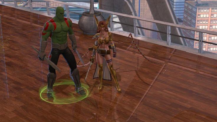 Marvel Heroes - Angela Chapter 11: Skrull Invasion