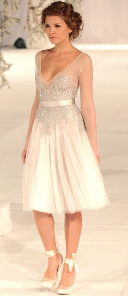 Dress Inspiration I Paolo Sebastian - Sydney Fashion Palette 2012 wedding weddingdress