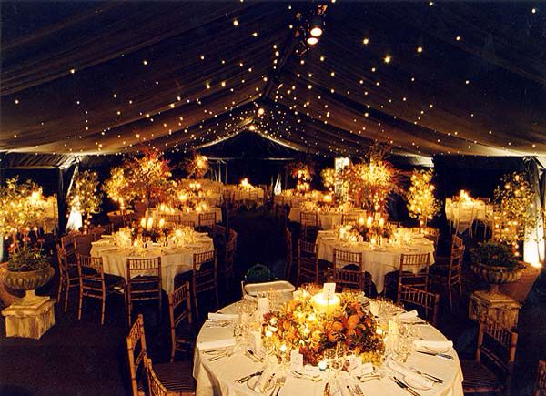 Wedding reception looks beautiful.
