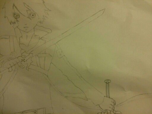 Kirito (SAO)  Drew this the other day but forgot to post it.