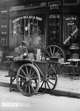 Rémouleur. Paris, 1907.