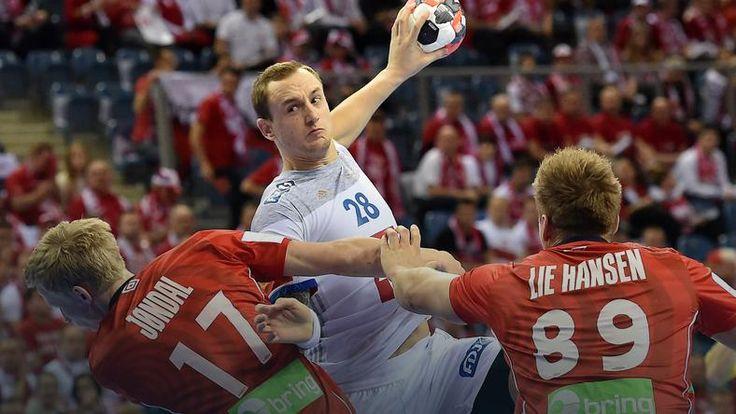 ME piłkarzy ręcznych: Francja przegrała z Norwegią, Polacy blisko półfinału